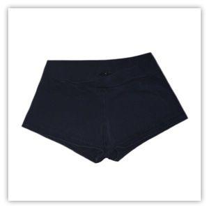 Capezio Black Dance Shorts